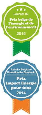 visuel Prix belge de l'énergie et de l'environnement