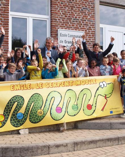 Emile le serpent mobile, activité mobilité pour les écoles primaires
