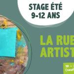 Stage enfants 9-12 ans Namur artistique création